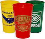 22oz Fluted Stadium Cups